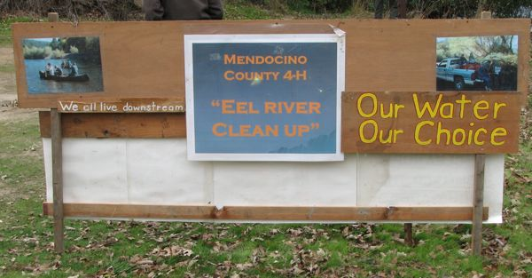 Eel River Cleanup sponsored by Mendocino County 4-H